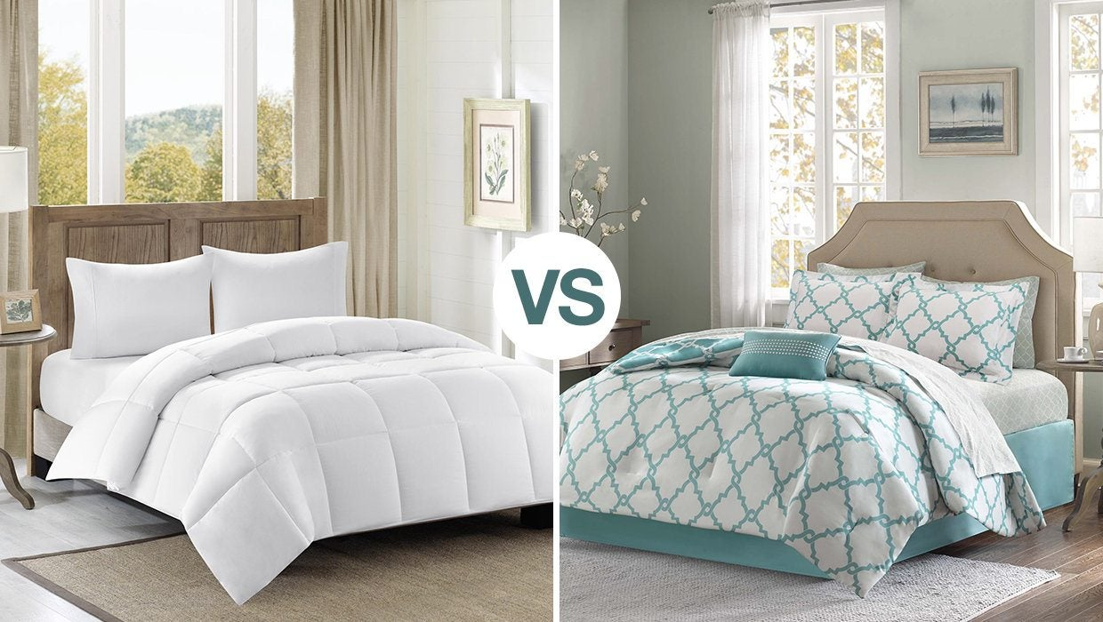 What is the Difference Between a Duvet vs Comforter?