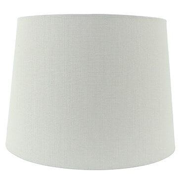 Off white empire lamp shade