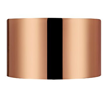 Copper Colored Metal Lamp Shade