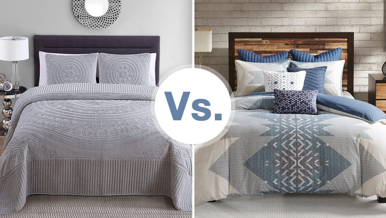 Do You Need a Bedspread or a Comforter? - Overstock.com