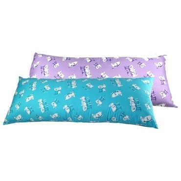 Patterned body pillow