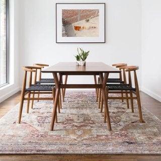 5 Area Rug Tips To Keep Wood Floors