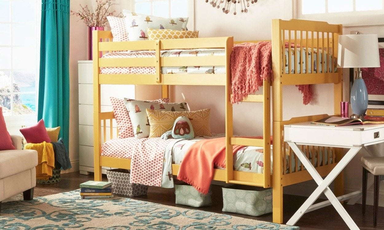 Picture of: How To Tell The Difference Between Cheap Bunk Beds And Discount Bunk Beds Overstock Com