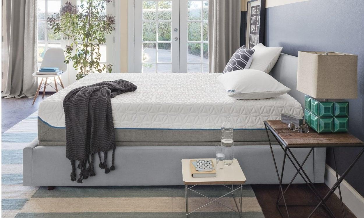 Mattress in bedroom