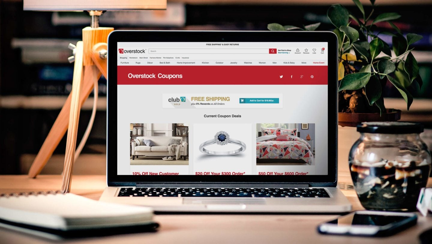 Save More with Overstock Promo Codes