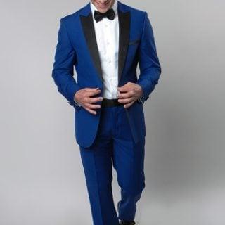 Tag 7 Mens Suits 44 Blue
