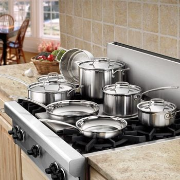 Stainless Steel Cookware Lifestyle Image