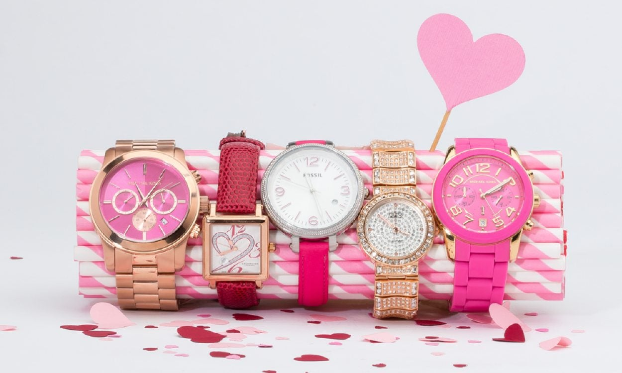 5 different Valentine's Day watches