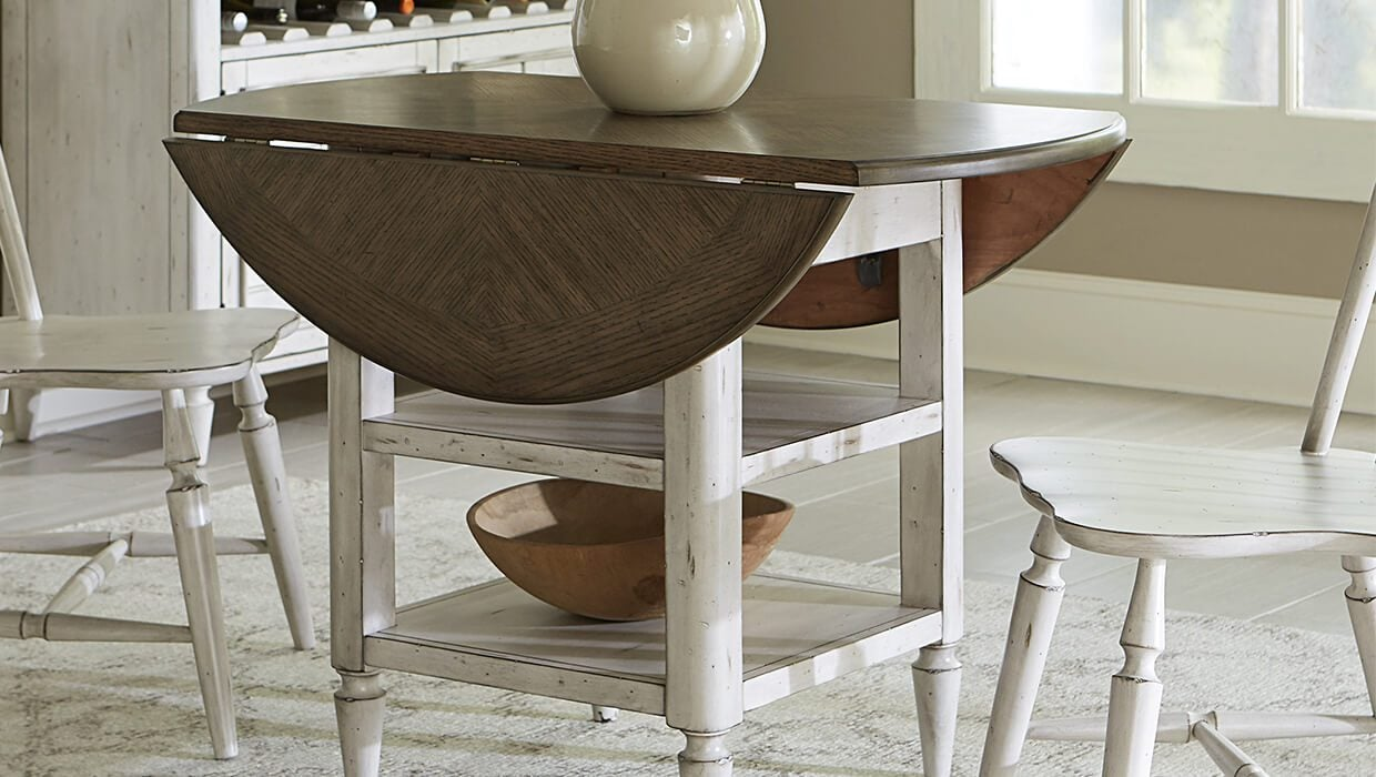 Top 5 Drop Leaf Table Styles For Small Spaces Overstockcom