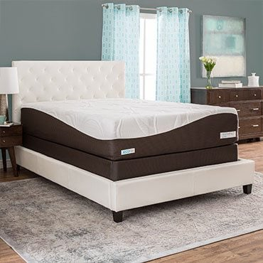 comforpedic by beautyrest solid support memory foam mattress
