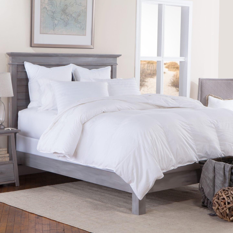 down bedding for platform beds