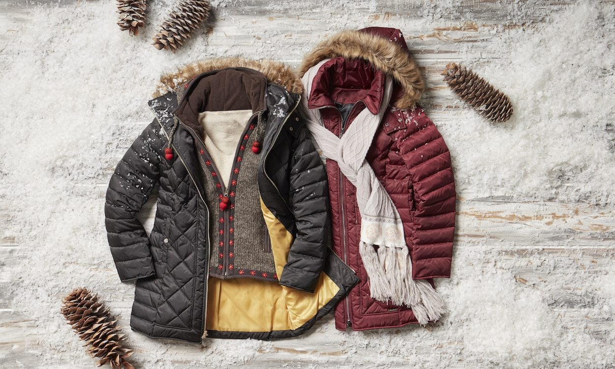 two womens jackets