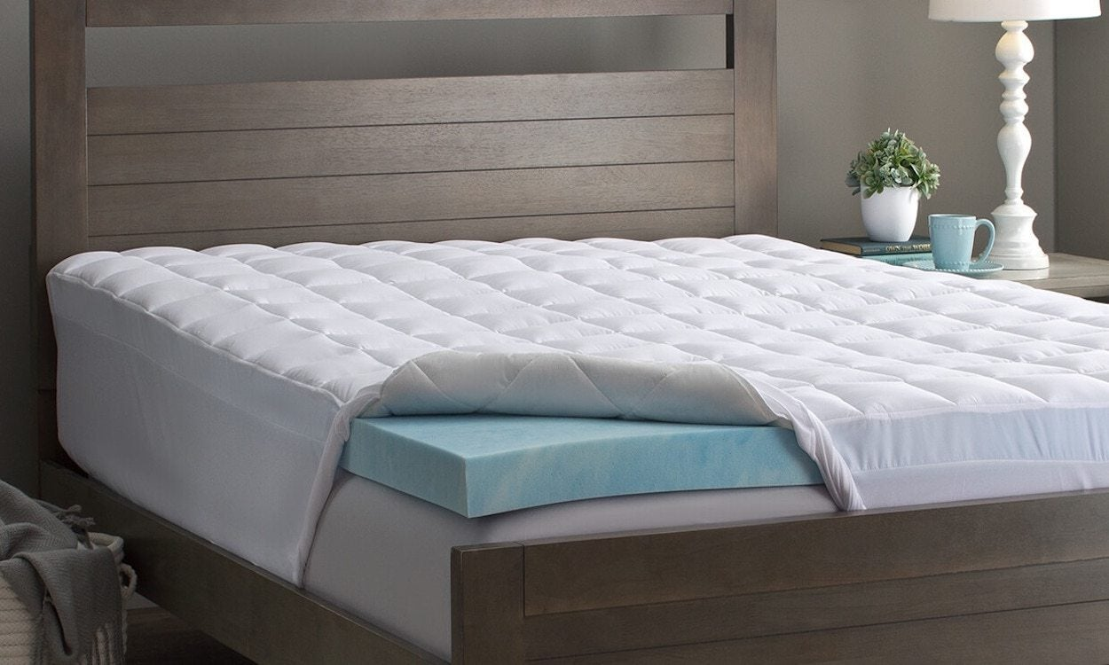 How To Pick Memory Foam Mattress Topper Thickness Overstockcom