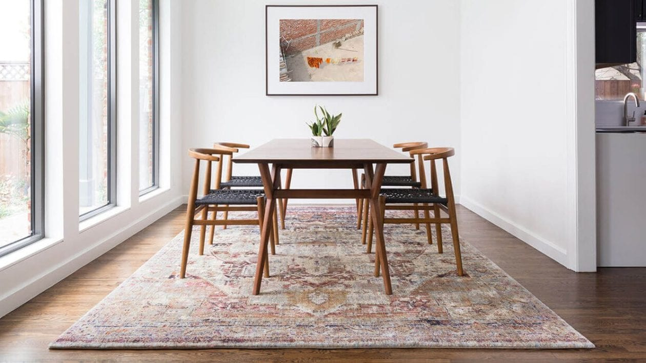 5 Area Rug Tips To Keep Wood Floors