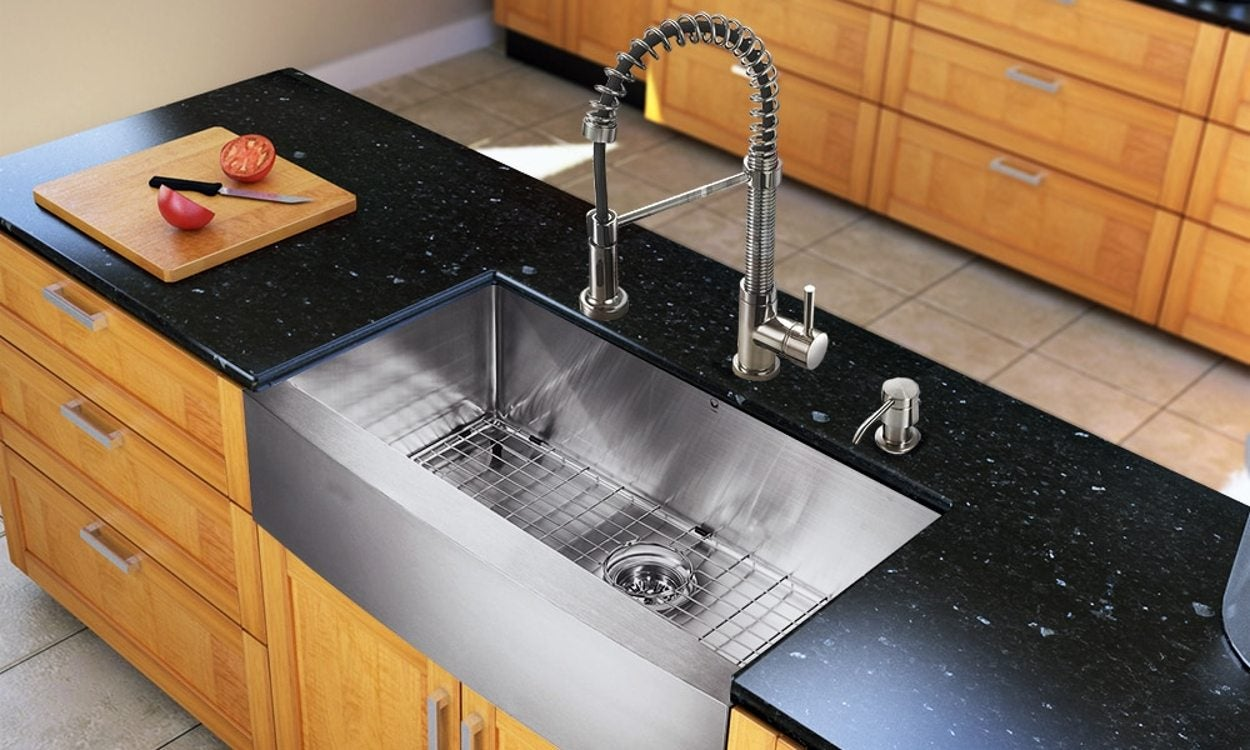 How to Choose the Right Size Kitchen Sink : kitchen sink dimensions - hauntedcathouse.org