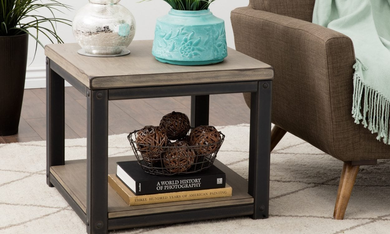 How to Decorate with a Large End Table - Overstock.com