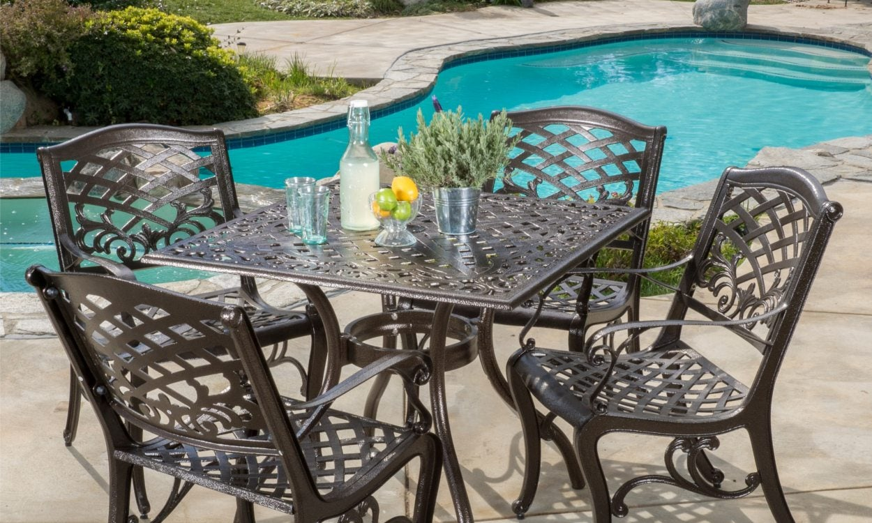 52ceb69eed91 How to Choose the Best Metal Patio Set - Overstock.com