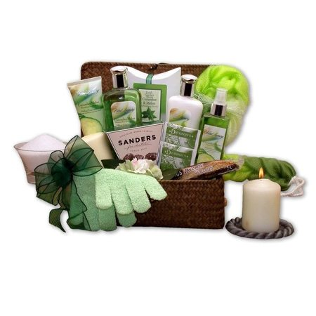 Spa gift basket mother's day gift ideas