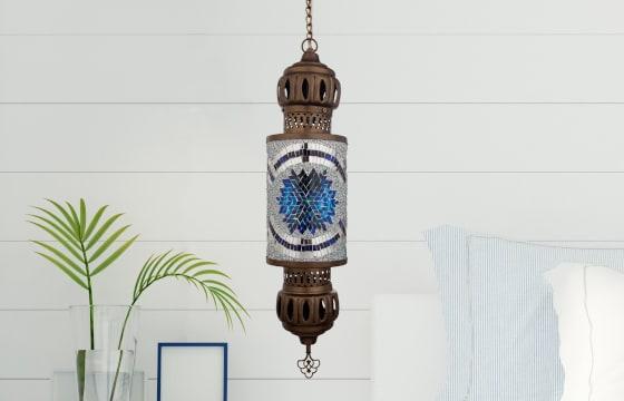 Boho Chic Bedroom Moroccan Lantern