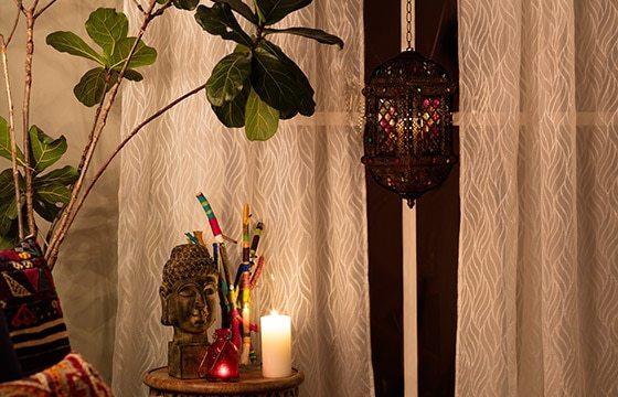Boho Chic Bedroom Sheer Curtains