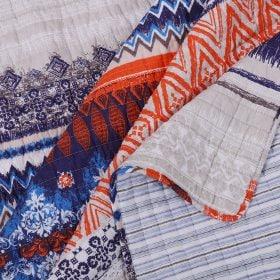 Boho layered bedding