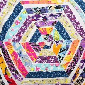 Boho patchwork print