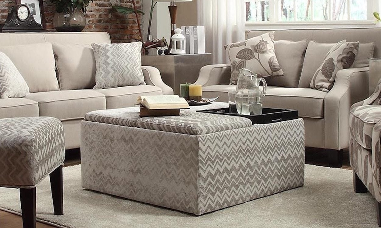 How To Incorporate A Storage Ottoman