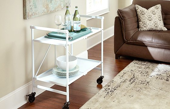 Wheeled carts for small living room ideas