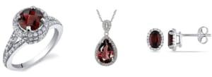 garnet stone jewelry