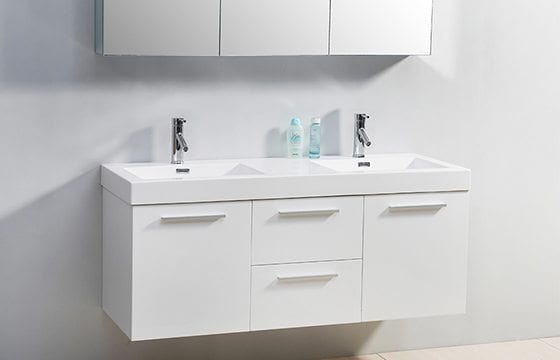 Floating vanity for small bathroom ideas