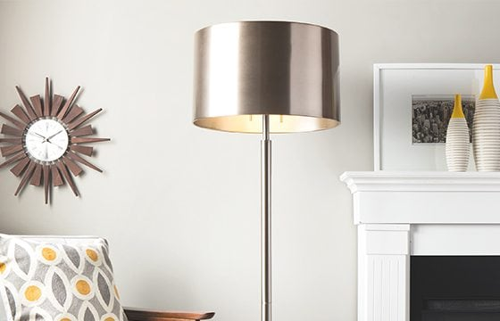 metallic floor lamp new home essentials
