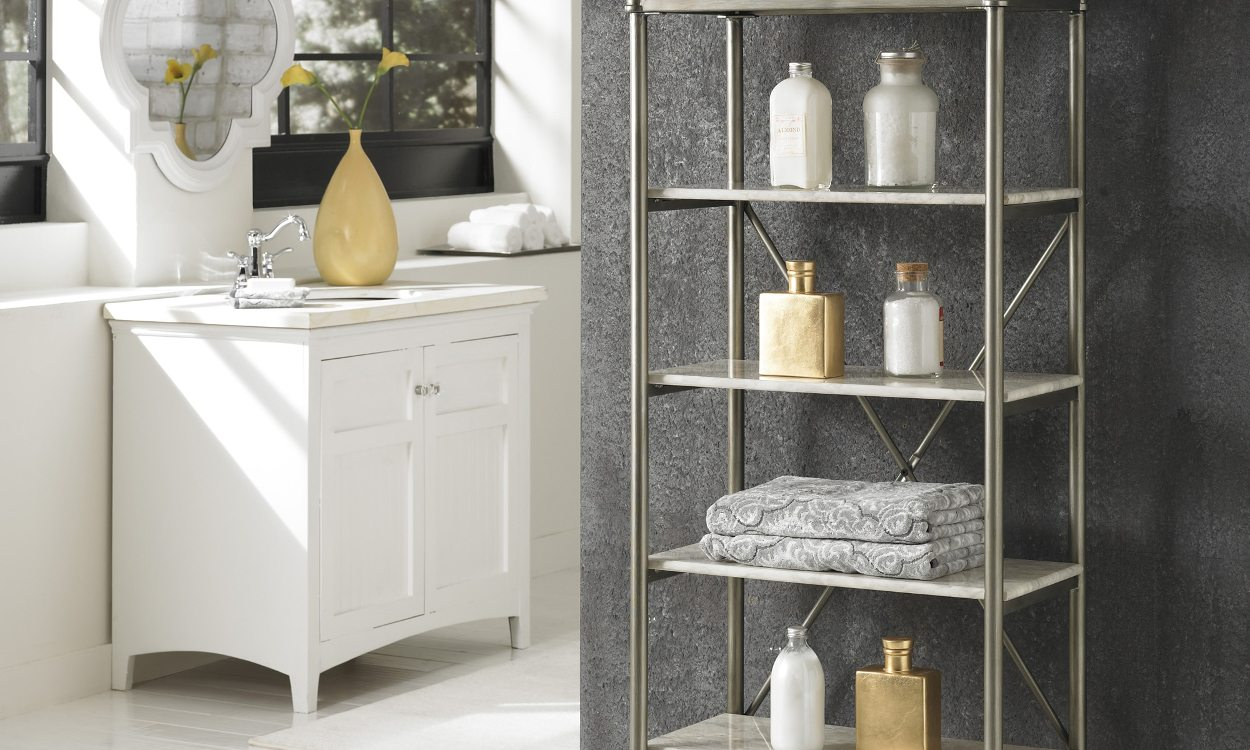 Best Bathroom Shelf Ideas & 5 Great Ideas for Bathroom Shelves - Overstock.com