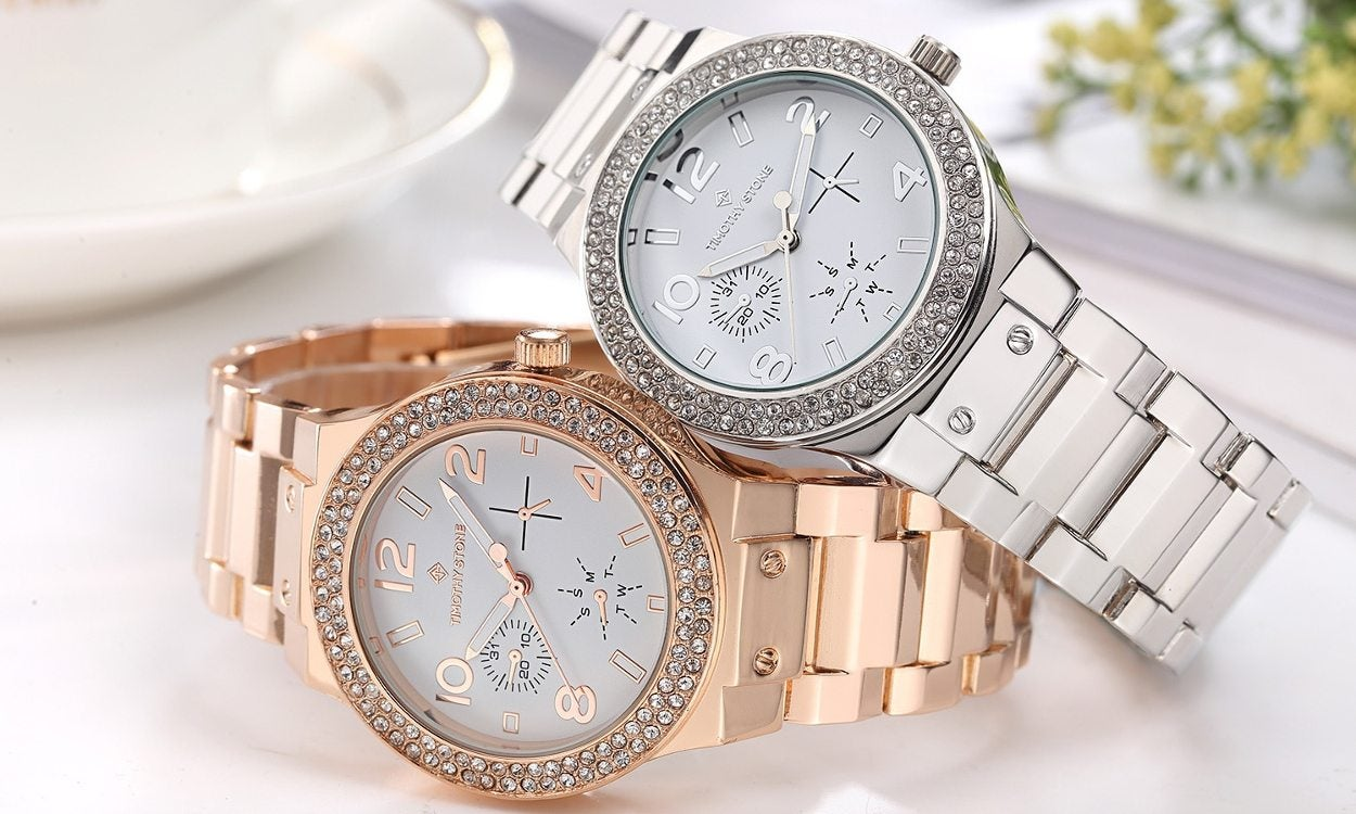 Two beautiful women's watches, perfect for daily wear