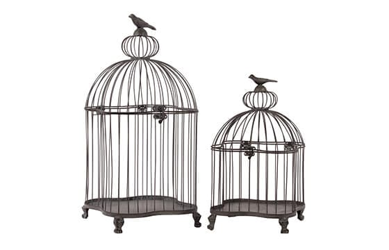 two decorative birdcages french country decor ideas