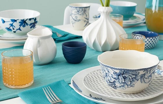Patterned dinnerware how to mix and match patterns
