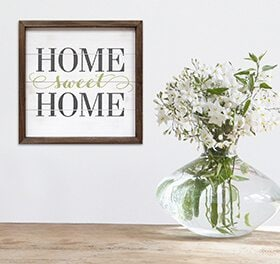 home sweet home sign mudroom decor ideas