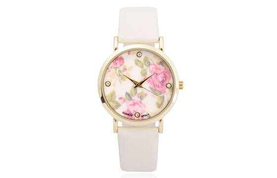 pink floral watch guide to women's watches
