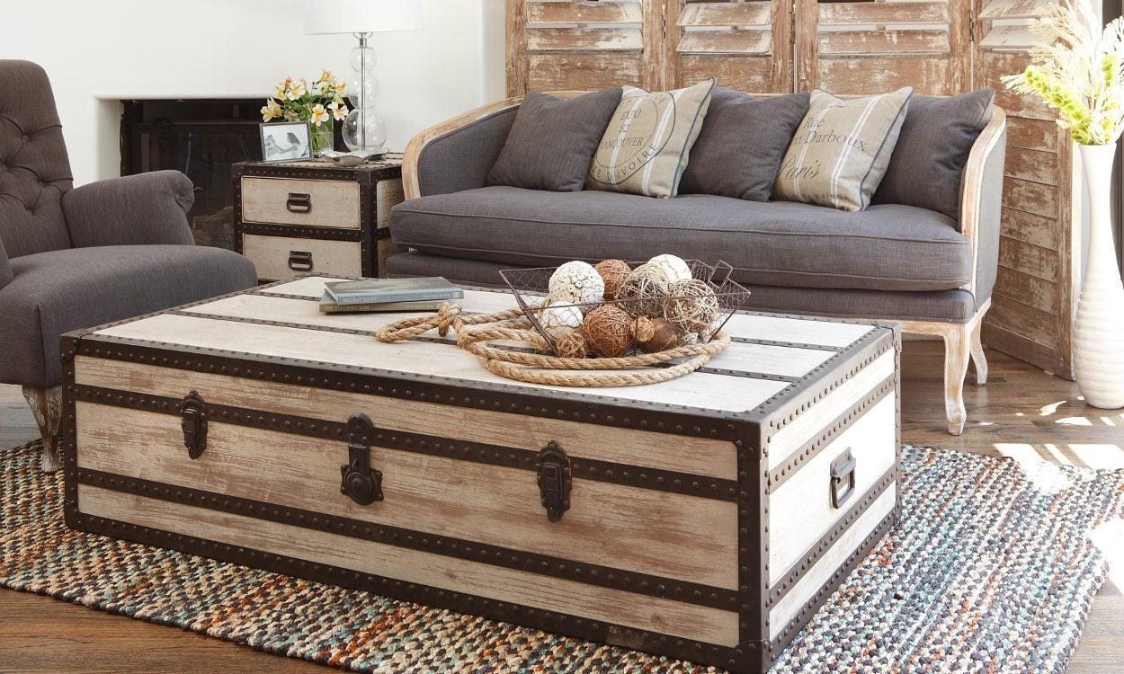 Hope chest in living room