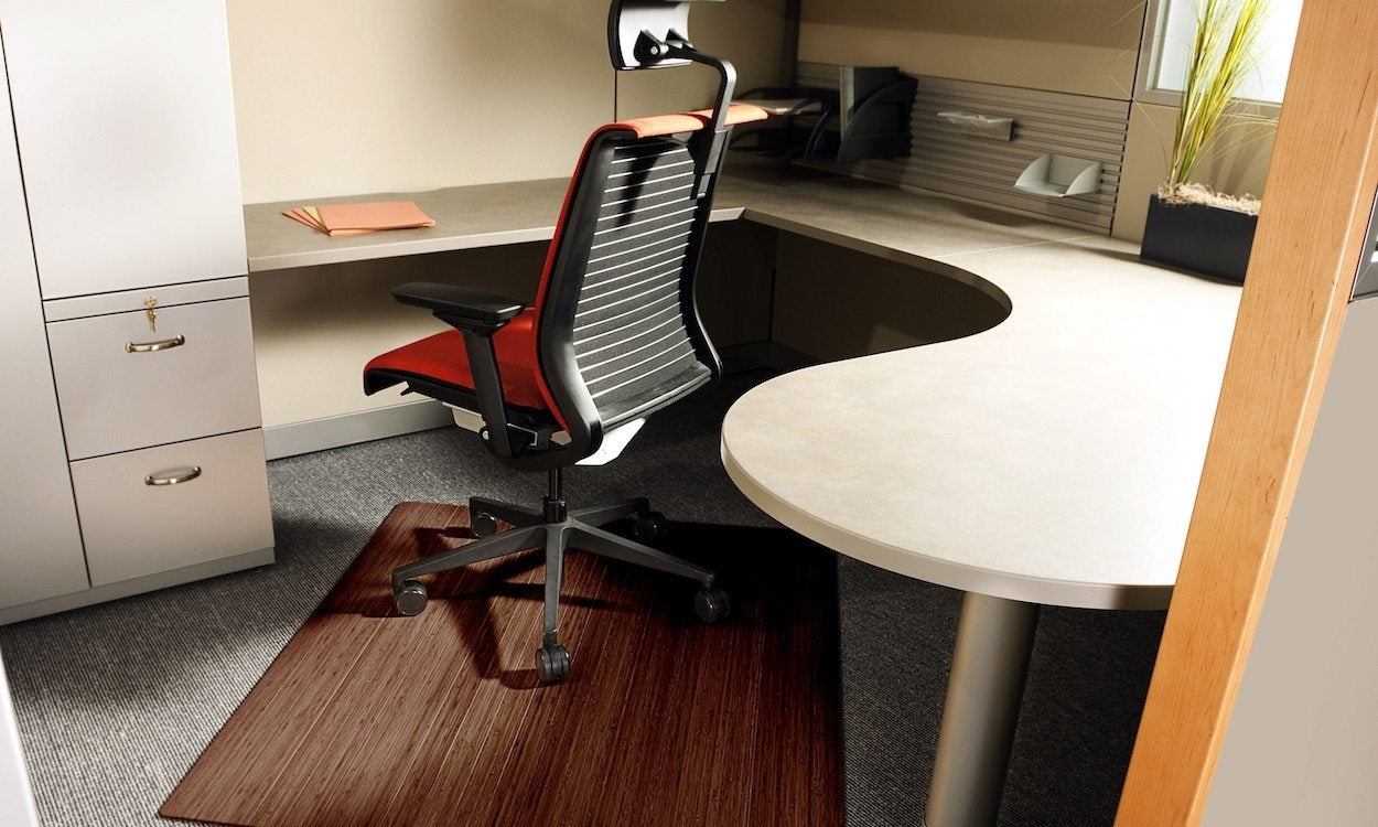 Picture of: How To Pick A Mat To Use Under An Office Chair Overstock Com