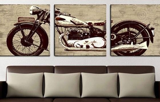 Industrial wall art