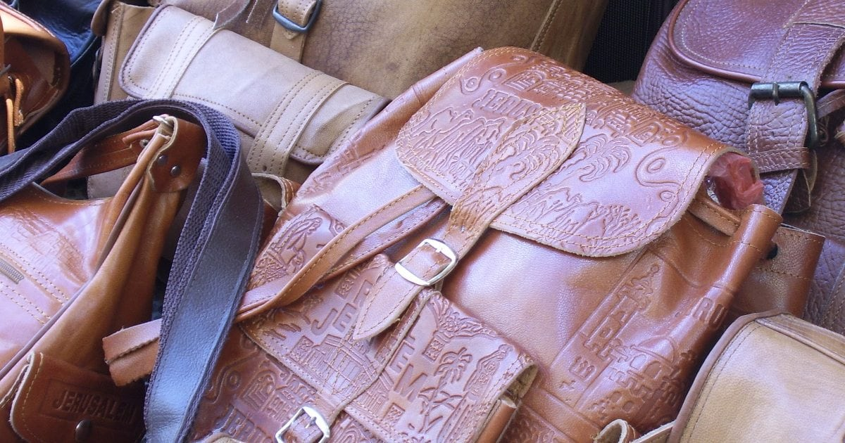 "Handmade rag quilt purse bag 12/"" x 8/"" black with metallic gold peace signs"