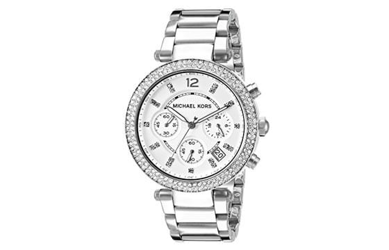 Silvertone crystal Michael Kors watch guide to women's watches