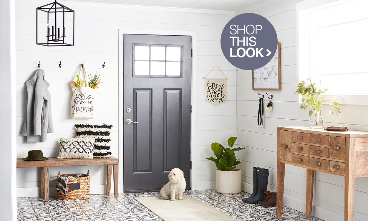 Mudroom Storage and Decor Ideas
