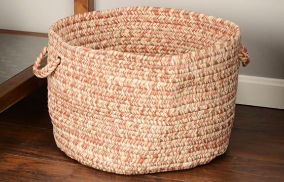 Storage Baskets for mudroom entryway