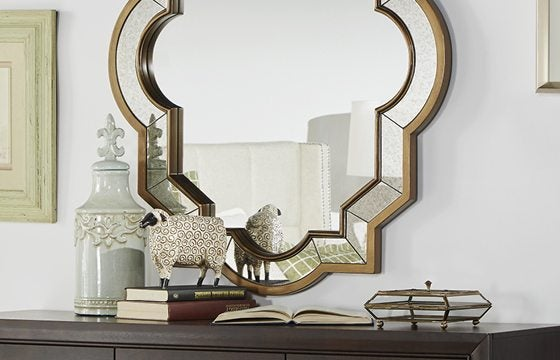 Entryway furniture with mirror Accent Mirror Overstock Entryway Furniture Decor Ideas Overstockcom