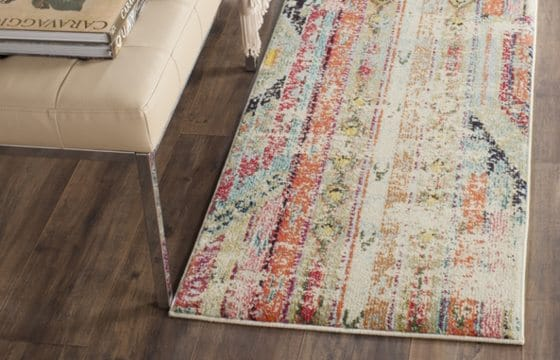 Runner rug for a small entryway
