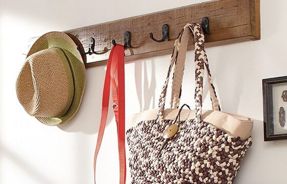 wall hooks mudroom storage and decor ideas