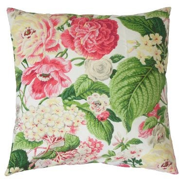Shabby Chic Style Floral Patterned Pillow