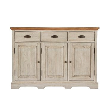 Shabby Chic Style White distressed buffet