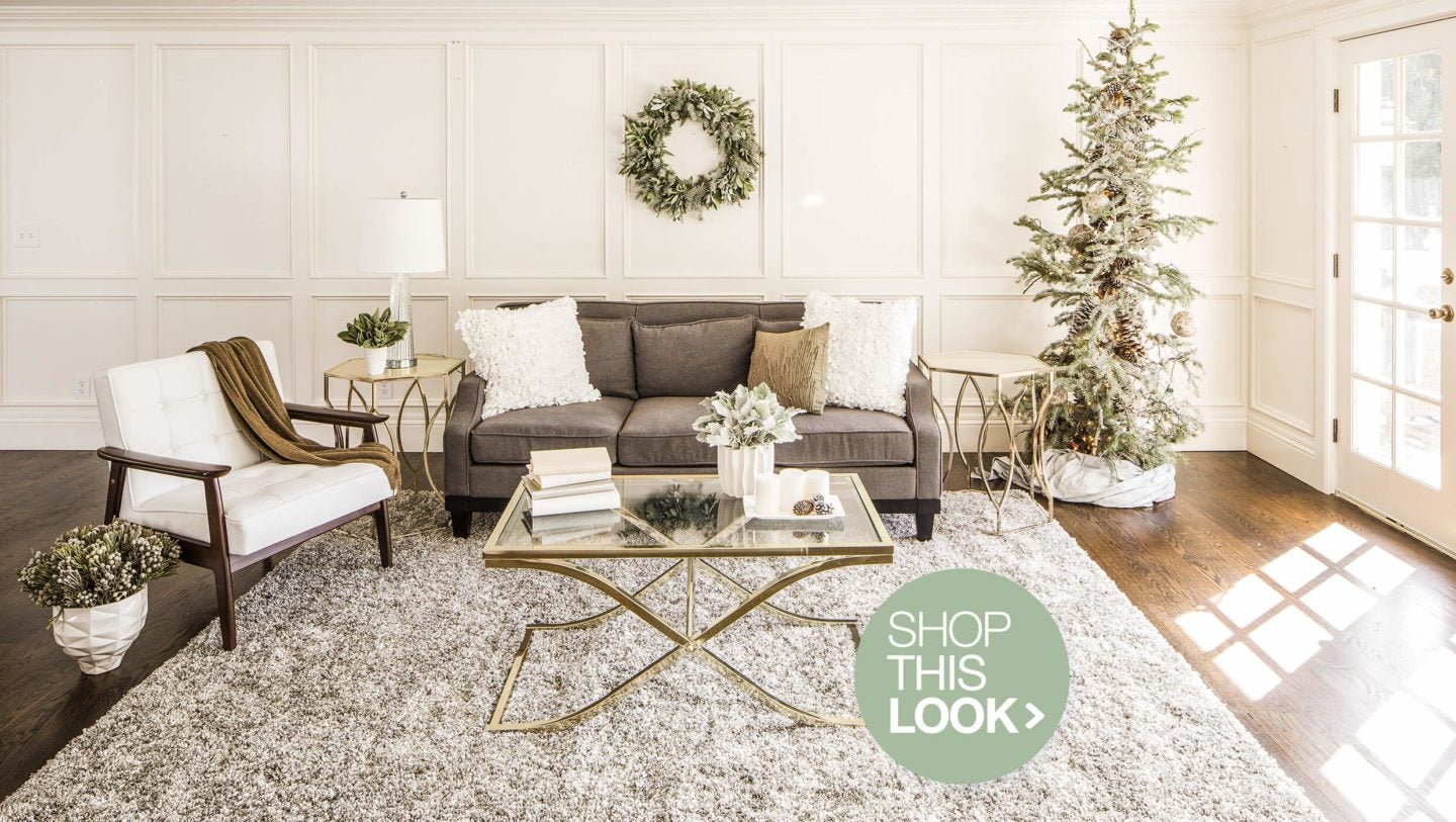 Article Winter Glam Holiday Decorating Ideas Overstock Com